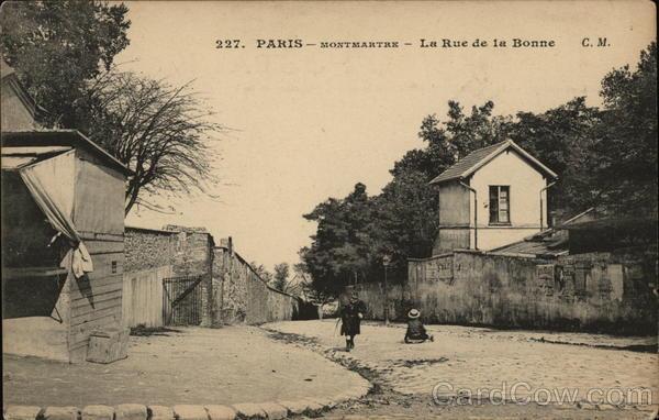 La Rue de la Bonne, Montmartre