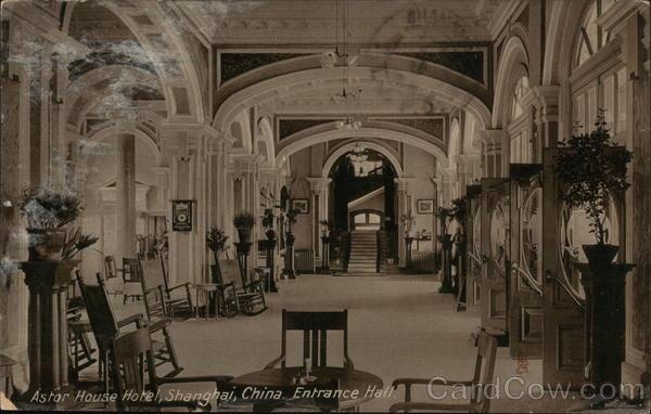 Entrance Hall, Astor House Hotel