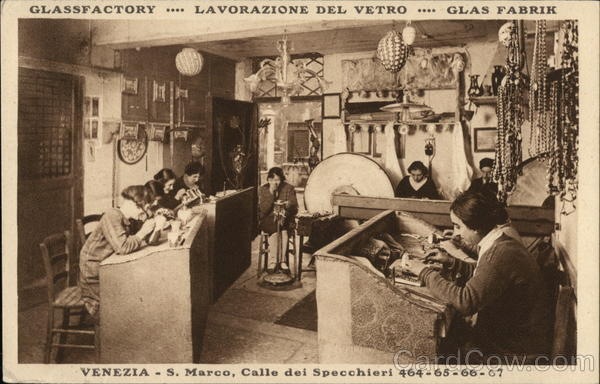 Glassfactory Venice - San Marco, Calle dei Specchieri 464-65-66-67