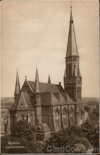 Apolda Lutherkirche germany
