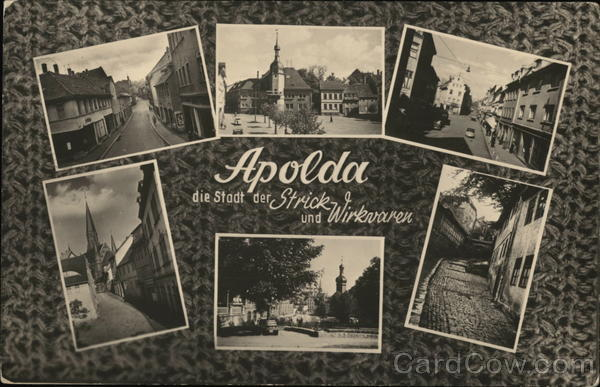 Greetings from Apolda Germany