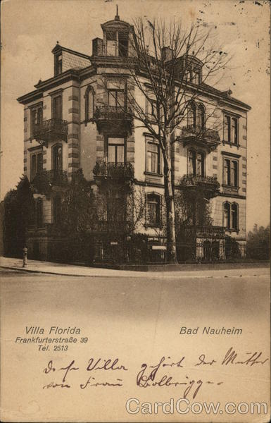 Villa Florida Bad Nauheim Germany