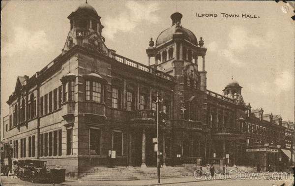 Ilford Town Hall England Essex