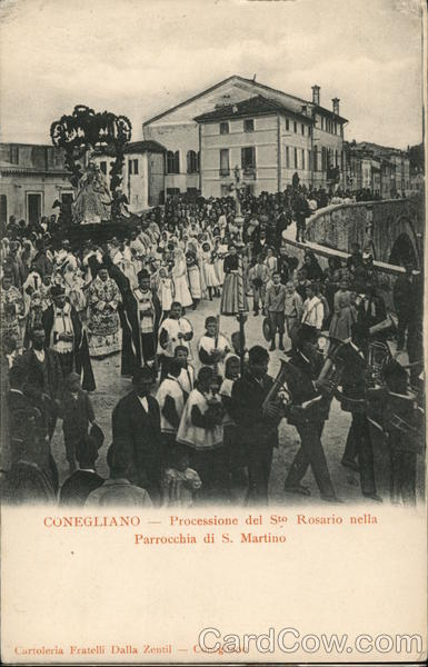Processione del Sto. Rosario nella Parrocchia di S. Martino