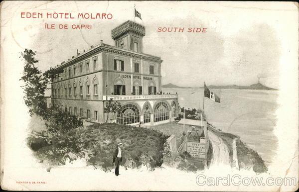 Eden Hotel Molaro South Side Capri Island
