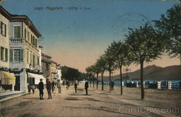 Lago Maggiore - Intra, JI Quai