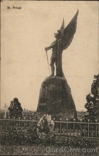 St. Privat,  Battle of Gravelotte  monument?