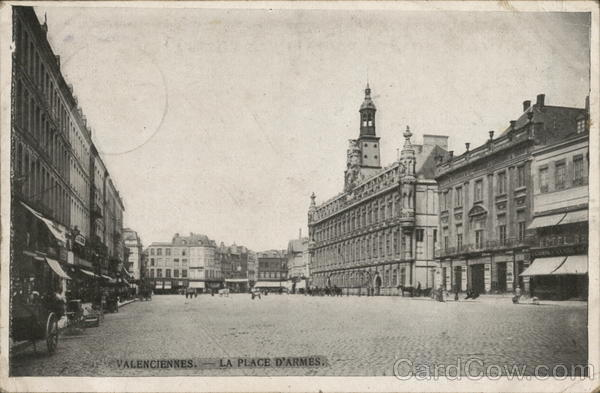 La Place D'Armes Valenciennes France