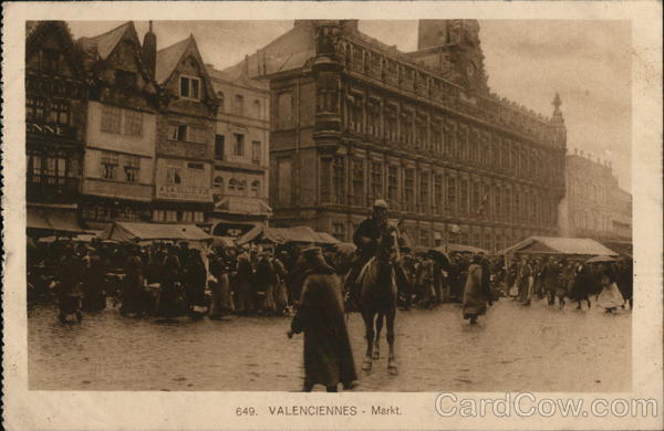 Valenciennes Market France