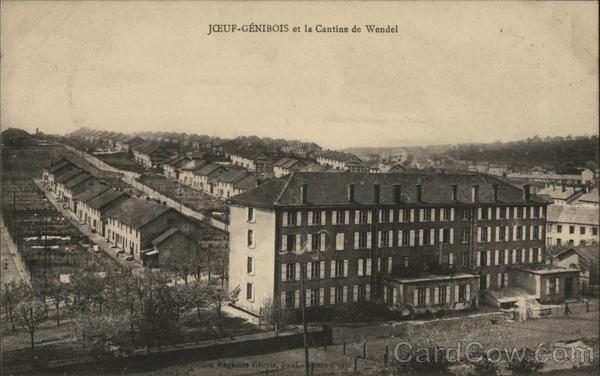 JOEUF-GENIBOIS et la Cantine de Wendel