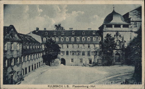 Plassenburg-Hof Kulmbach Germany