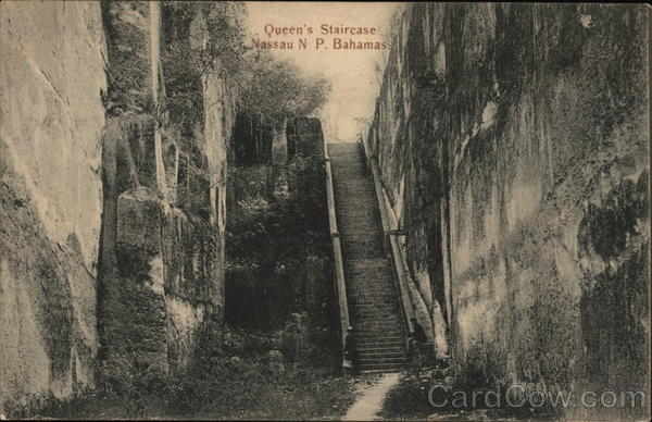Queen's Staircase Nassau Bahamas Caribbean Islands