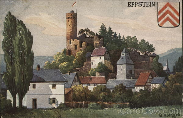 Eppstein Castle and Town Germany