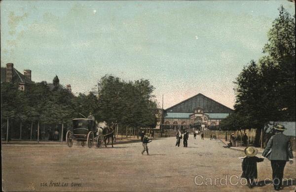 Brest, Les Gares