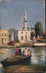 Mosque on the Mahmoudieh Canal Alexandria