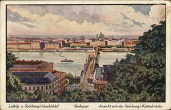 View of City and Danube RIver