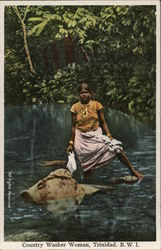 Country Washer Woman, Trinidad. B.W.I