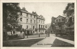 Royal Clarence Hotel Postcard