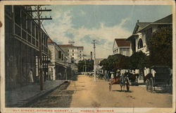 Bay Street, Showing Market, Nassau, Bahamas