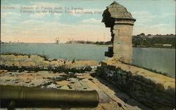 Habana: Entrance to the Harbour from La Fuerza Fort