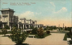 Presidents Avenue at Vedado