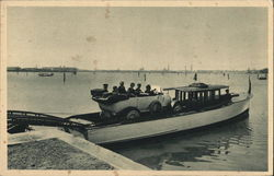 Motorboat Transport for Automobiles from Lido San Giuliano