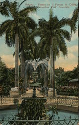 Columbus Park Fountain