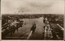Manchester Ship Canal, Salford Docks