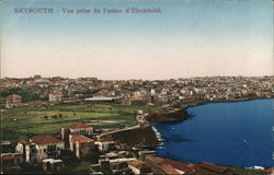 Beyrouth - View from the electricity plant