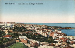 BEYROUTH, Vue Prise du College Maronite