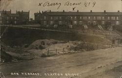 Oak Terrace, Clayton Bridge Postcard