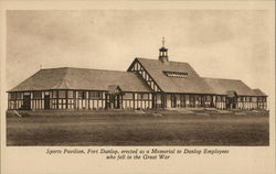 Fort Dunlop - Sports Pavilion, Erdington Postcard