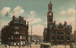 Town Hall Square Postcard
