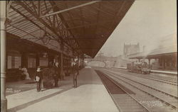 Crossgates Station Postcard