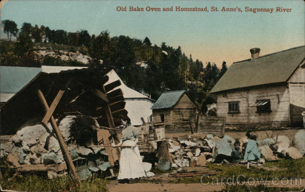 Old Bake Oven and Homstead, St. Anne's, Saguenay River Sainte-Anne-de-Beaupré Canada