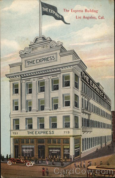 The Express Building Los Angeles California