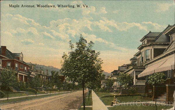 Maple Avenue, Woodlawn Wheeling West Virginia
