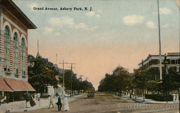 Grand Avenue Asbury Park New Jersey