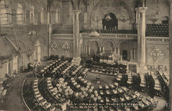The Assembly Chamber, State Capitol Albany New York
