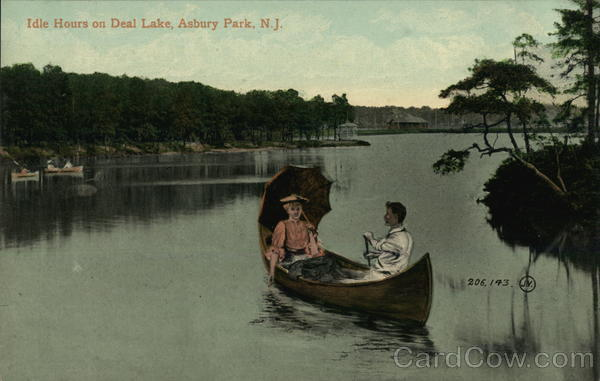 Idle Hours on Deal Lake Asbury Park New Jersey