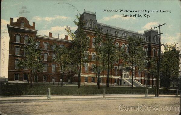 Masonic Widows and Orphans Home Louisville Kentucky