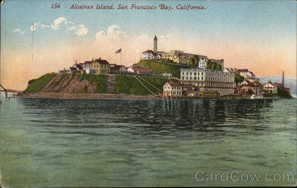 Alcatraz Island, San Francisco Bay California