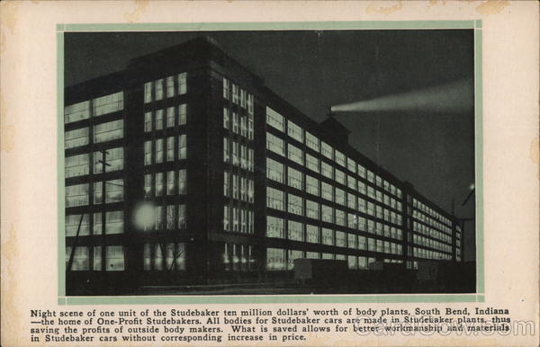 Studebaker Body Plant South Bend Indiana