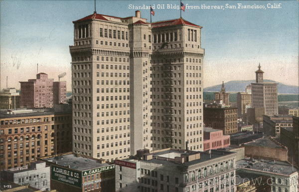 Standard Oil Building from Rear San Francisco California