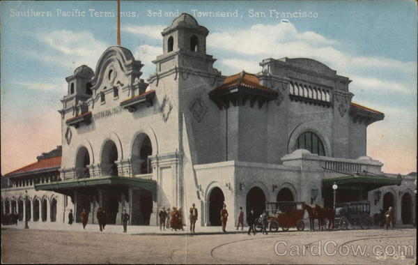 Southern Pacific Terminus San Francisco California