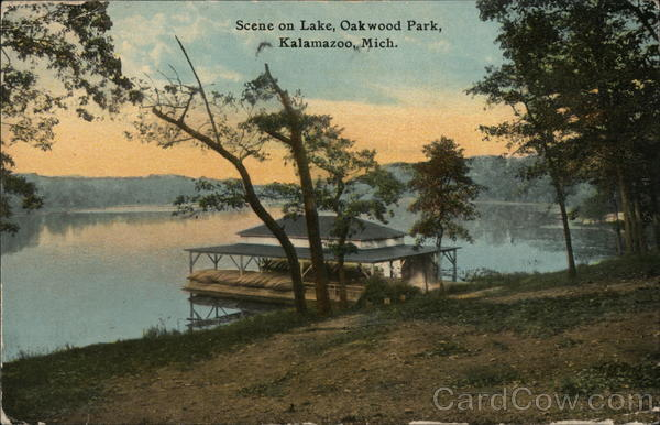 Lake, Oakwood Park Kalamazoo Michigan