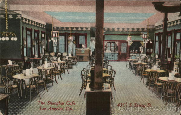 The Shanghai Cafe Los Angeles California