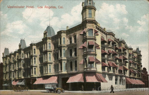 Westminster Hotel Los Angeles California