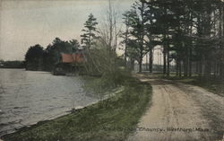 Road by Lake Chauncy