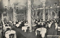 Dining Room, Clift Hotel